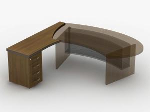 Приставка стола с тумбой 180х75х63