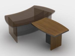 Стол брифинг 120х75х80