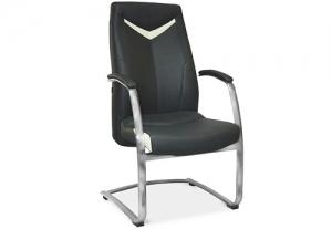 Кресло офисное антей хром конференц