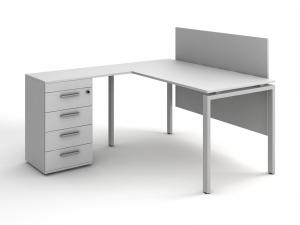 Экран для стола надстольно-подстольный