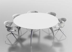 Стол для переговоров d180 арт. 90dc03