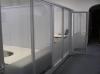 офисная алюминиевая перегородка