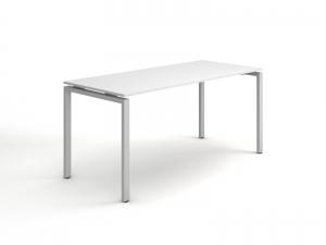 Стильный офисный стол в белом цвете 140х75х70 kd-1470