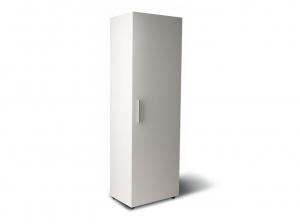 шкаф для документов офисный на 5 полок узкий(5 полок закрыто фасадом)  60х193х42 АРТ. UR-155