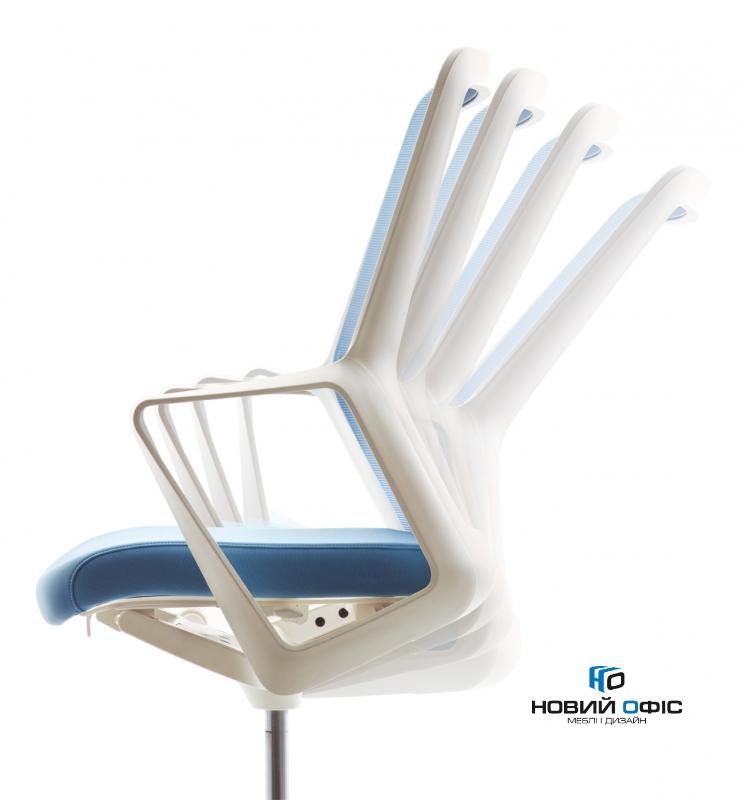 Кресло flo white с подголовником | Фото - 2
