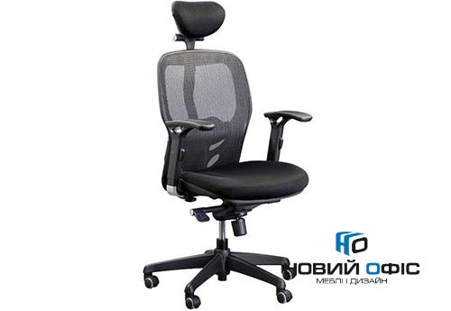 Кресло офисное кураж с подголовником   Фото - 0