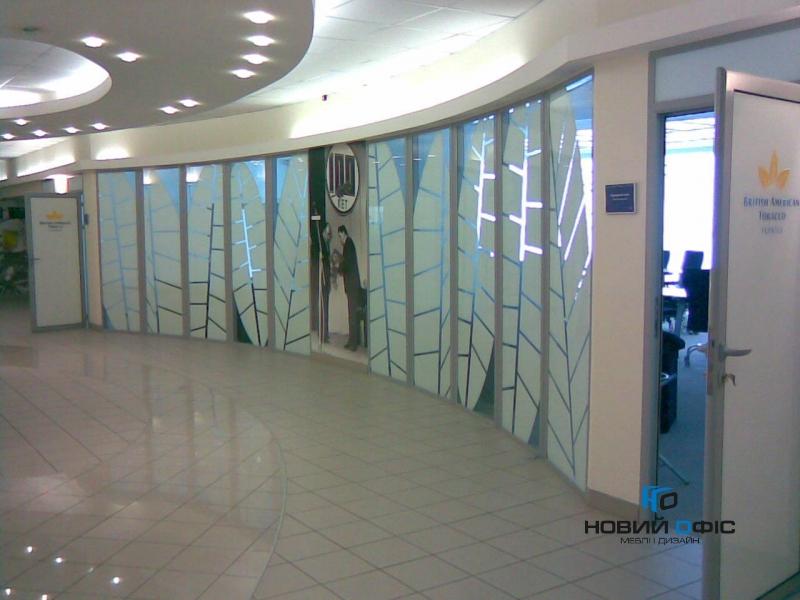 Офисная алюминиевая перегородка | Фото - 1