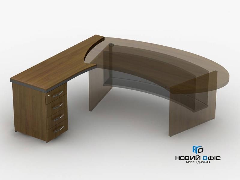 Приставка стола с тумбой 180х75х63 | Фото - 0