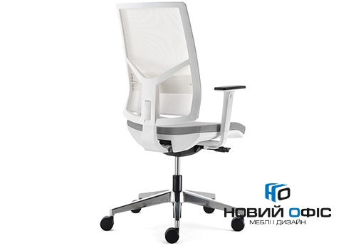 Кресло офисное на роликах play white | Фото - 1