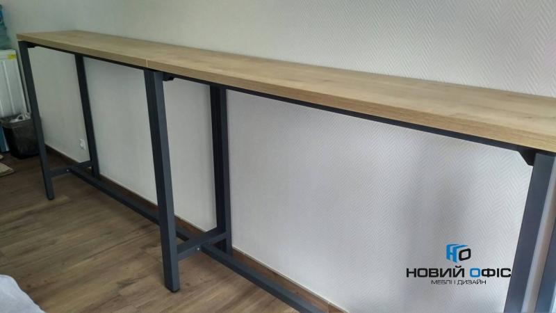 высокий стол для переговоров 160х120х60 kdm-1660 | Фото - 3