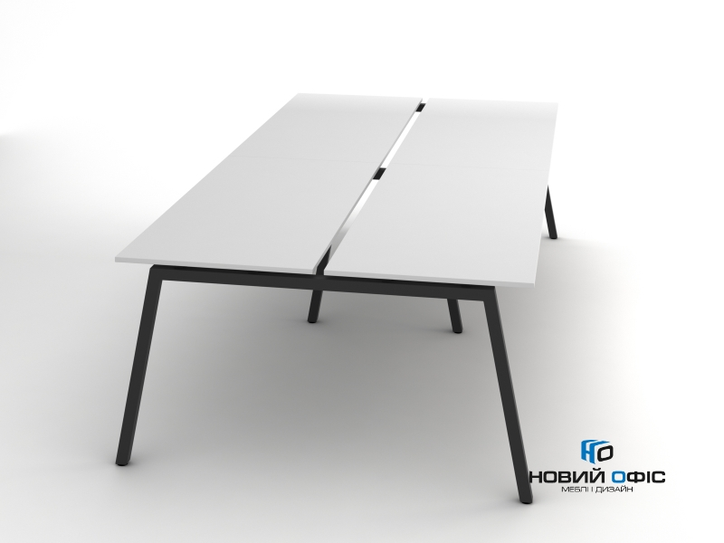 Современный офисный стол на 4 человека 280х75х140 rd-2814 | Фото - 0