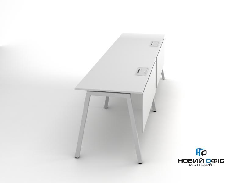 Современный офисный стол на два рабочих места 280х75х70 rd-2870 | Фото - 1