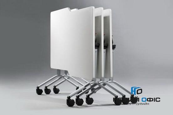 Мобильный складной стол для переговоров 160х75х80 | Фото - 1