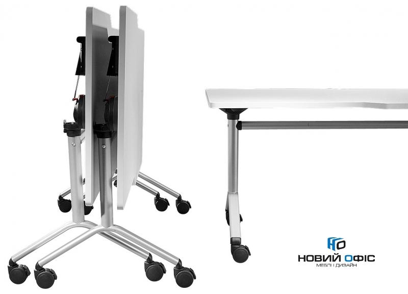 Мобильный складной стол для переговоров 160х75х80 | Фото - 2