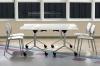 Мобильный складной стол для переговоров 160х75х80