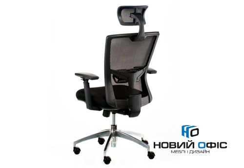 Кресло down black с подголовником | Фото - 2