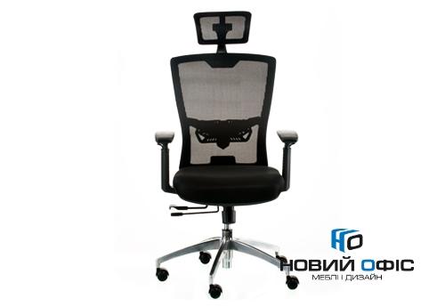 Кресло down black с подголовником | Фото - 3