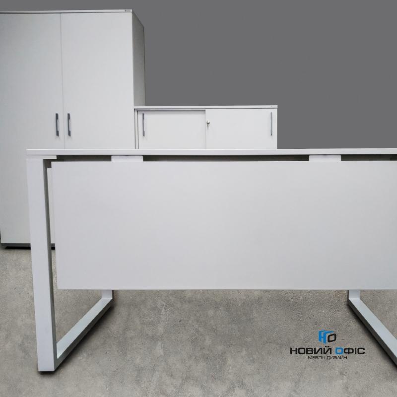 Стильный офисный стол 120х75х70 kqd-1270 | Фото - 4