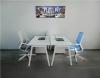 Стильный офисный стол в белом цвете 140х75х70rd-1470 | Фото - 4