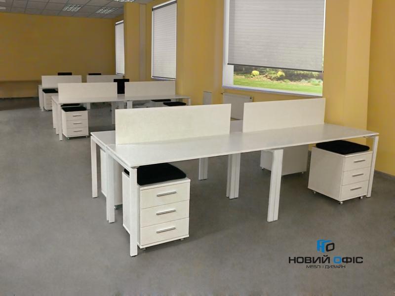 Стол офисный 160х75х70 kd-1670 | Фото - 6