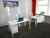 Современный офисный стол 140х75х70 rd-1470 | Фото - 7