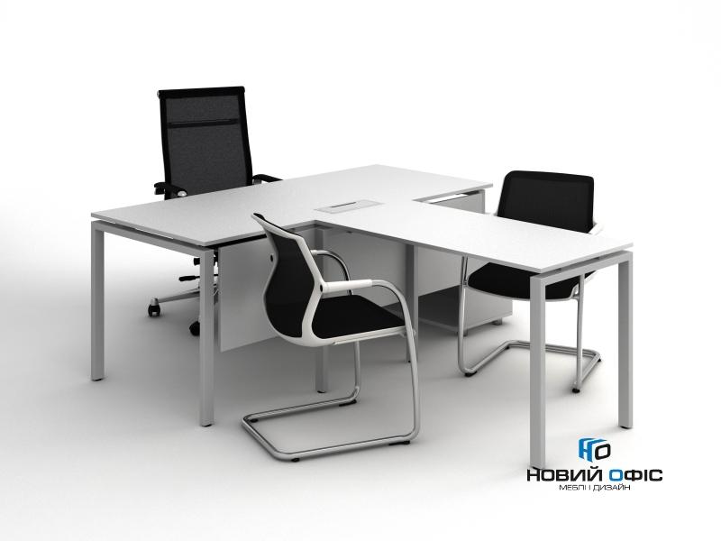 Стол офисный приставной 120х75х60 kd-1260 | Фото - 2
