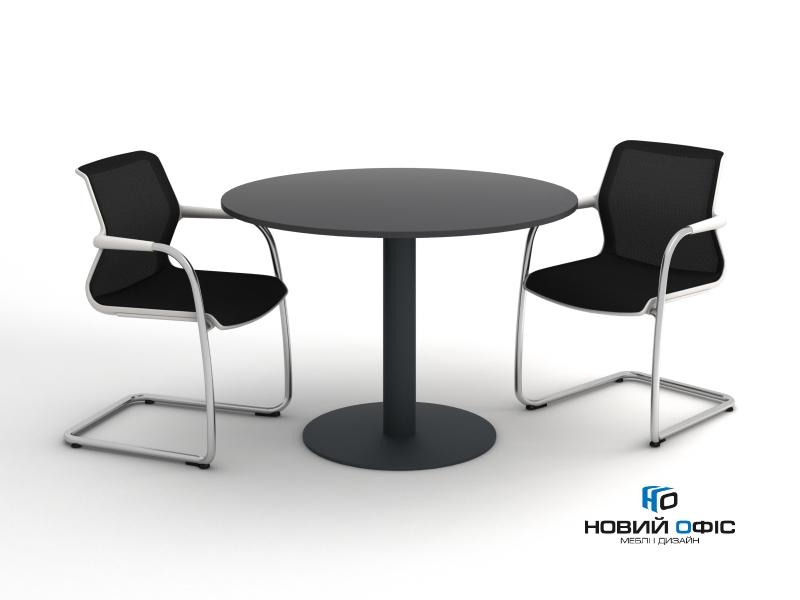 Стол для переговоров круглый 110х110 kdm-110 | Фото - 1