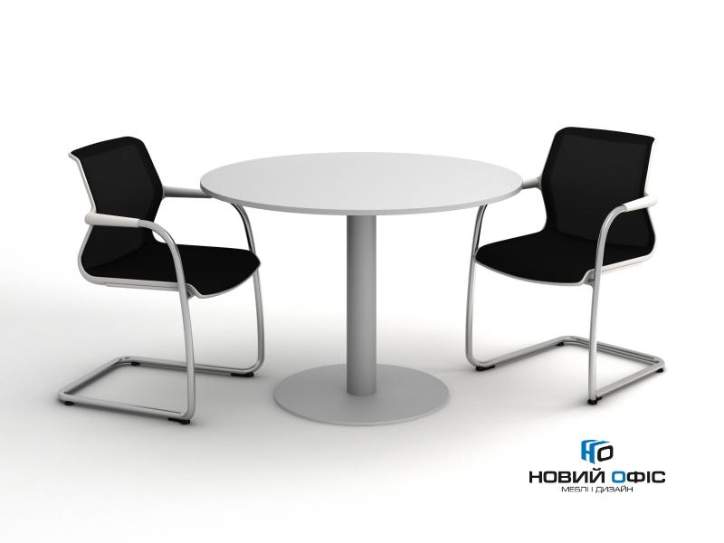 Стол для переговоров круглый 110х110 kdm-110 | Фото - 0