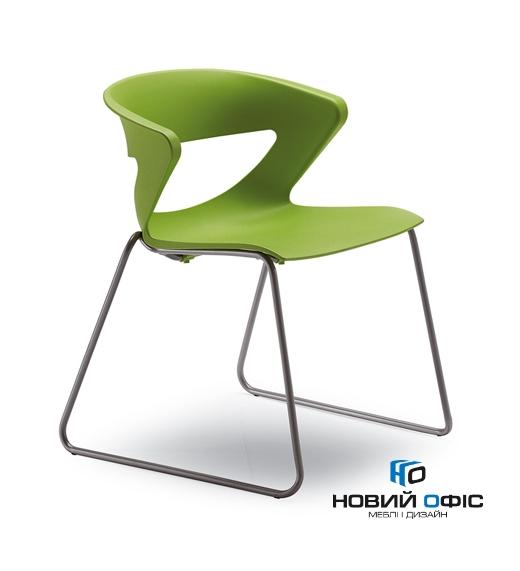 Кресло офисное kicca конф. на полозьях | Фото - 0