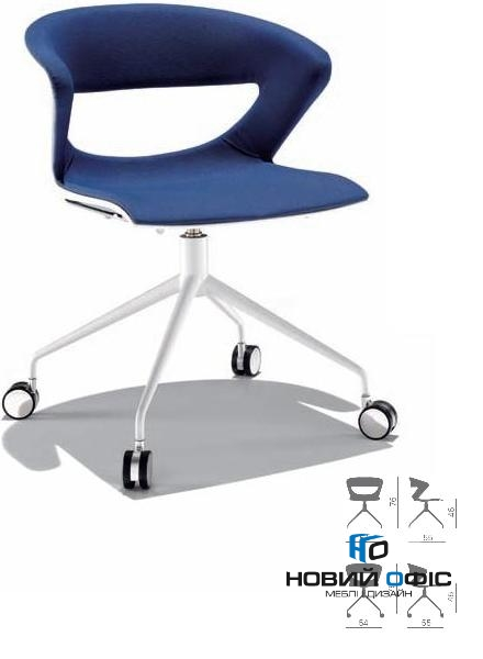 Кресло офисное kicca на 4х лучевой крестовине | Фото - 0