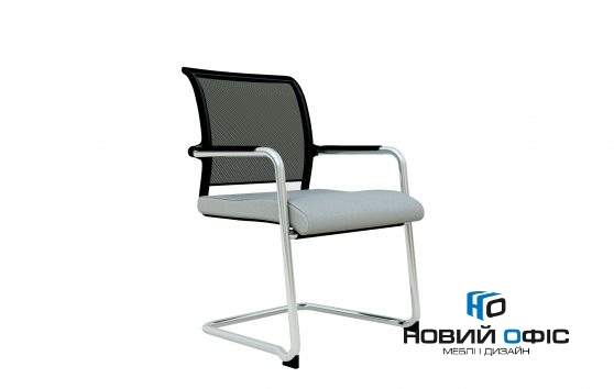 Кресло офисное Паритет конференц на полозьях | Фото - 1