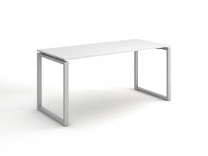 Стильный стол для персонала в белом цвете 140х75х70 kqd-1470