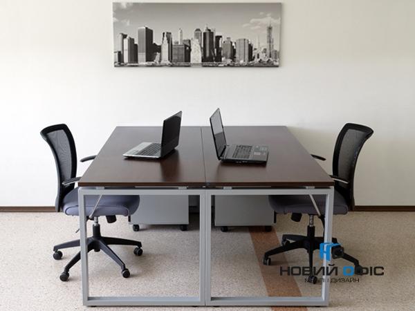 Стол офисный 160х75х70 kqd-1670 | Фото - 8