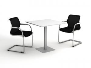 стол для офисной кухни квадратный 80х75х80 kdk-88