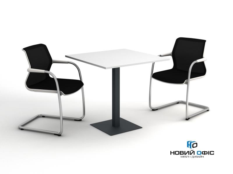 стол для офисной кухни квадратный 80х75х80 kdk-88 | Фото - 1