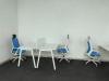 Стильный офисный стол c темно-серыми ножками 140х75х70rd-1470 | Фото - 4