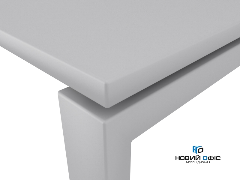 белый офисный стол для персонала 140х75х70 kd-1470  | Фото - 2
