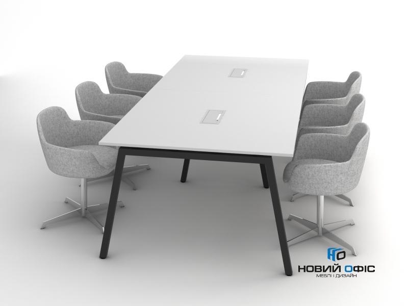 Стол для переговоров 260х75х120 rdm-2612 на 6-8 человек | Фото - 1