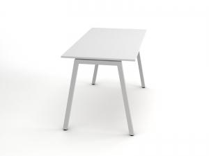 Стильный офисный стол в белом цвете 140х75х70rd-1470