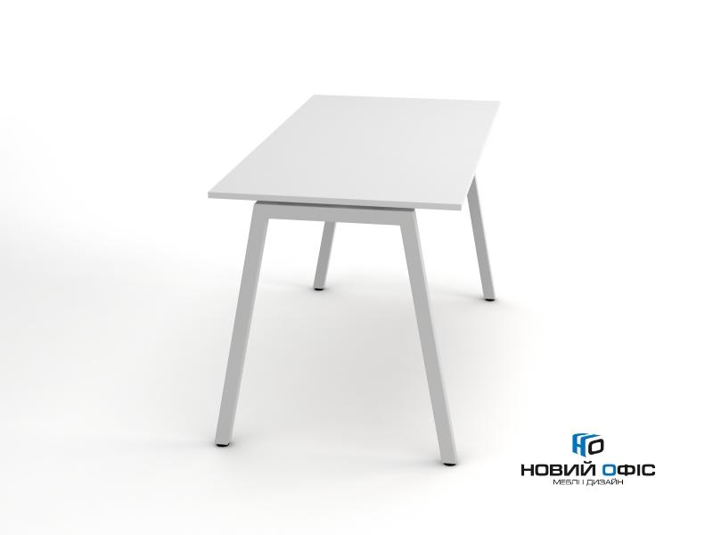 Стильный офисный стол в белом цвете 140х75х70rd-1470 | Фото - 0