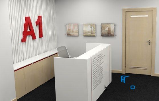 A1 Reception стойка офисная | Фото - 1