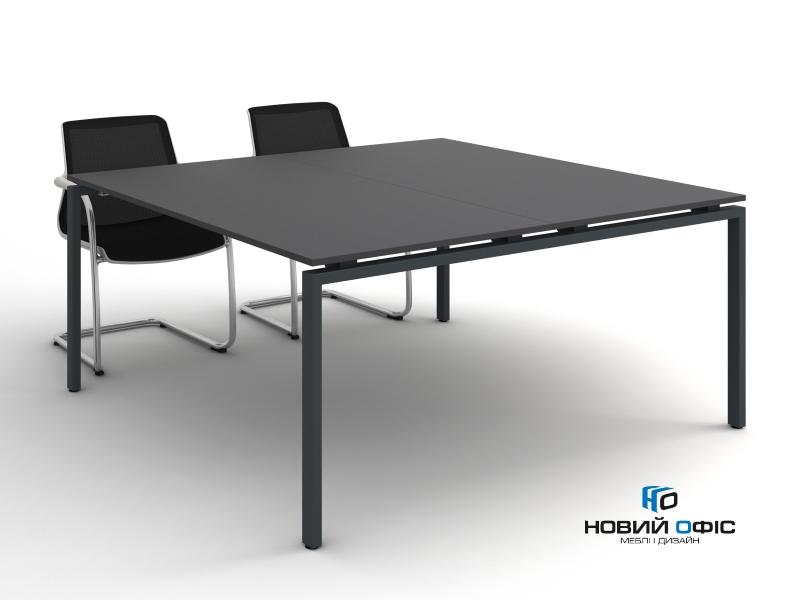 Стол квадратный для совещаний 160х75х160 kdm-1616 | Фото - 1