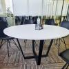 Стол для переговоров круглый 130х75х130 kdm-130 | Фото - 3