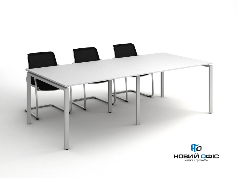 Стол для переговоров прямой 260х75х120 kdm-2612 | Фото - 0