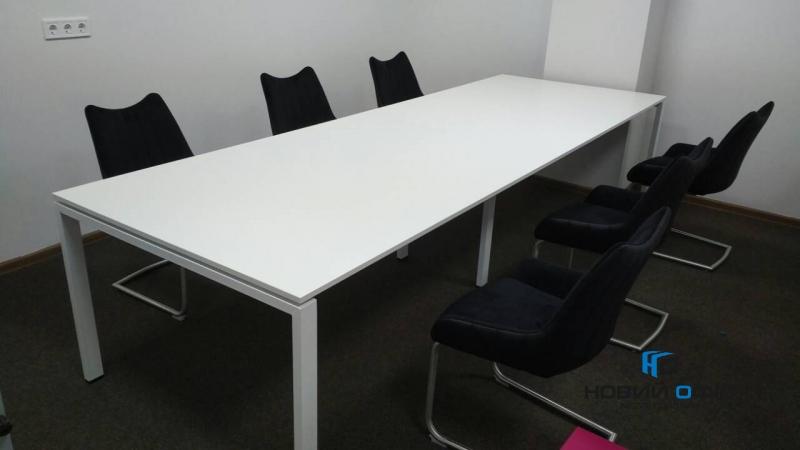 Стол для переговоров прямой 260х75х120 kdm-2612 | Фото - 2
