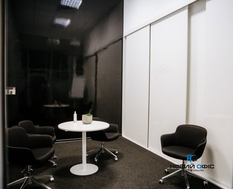 Стол для переговоров круглый 90х90 kdm-90 | Фото - 2