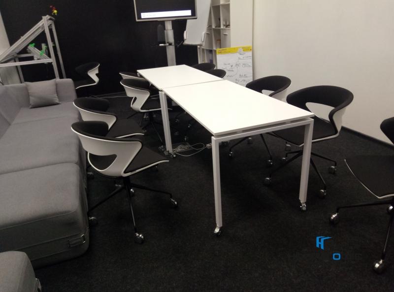 Офисный Стол на колесиках 140х75х70 kdr-140 | Фото - 7