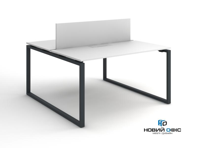 Стол офисный для двух рабочих мест140х75х140 kqd-1414 | Фото - 2