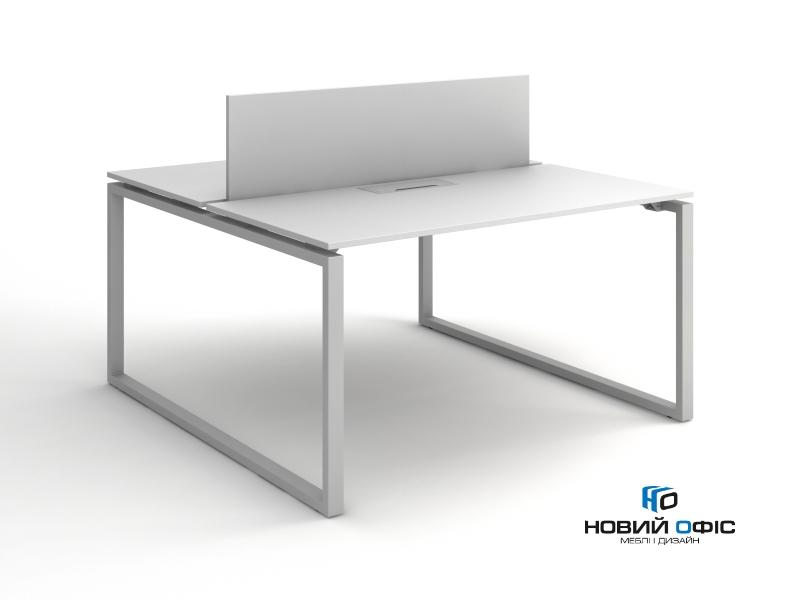 Стол офисный для двух рабочих мест140х75х140 kqd-1414 | Фото - 1