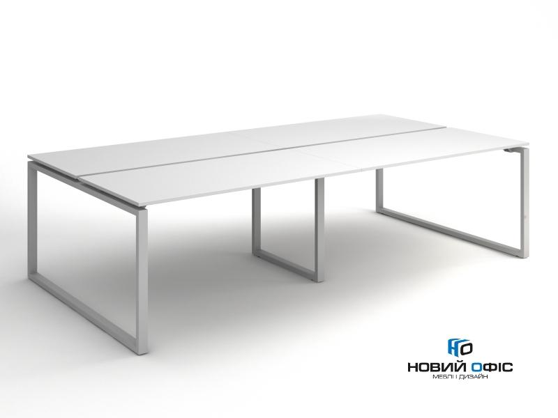 Офисный стол на 4 человека 280х75х140 kqd-2814 | Фото - 1